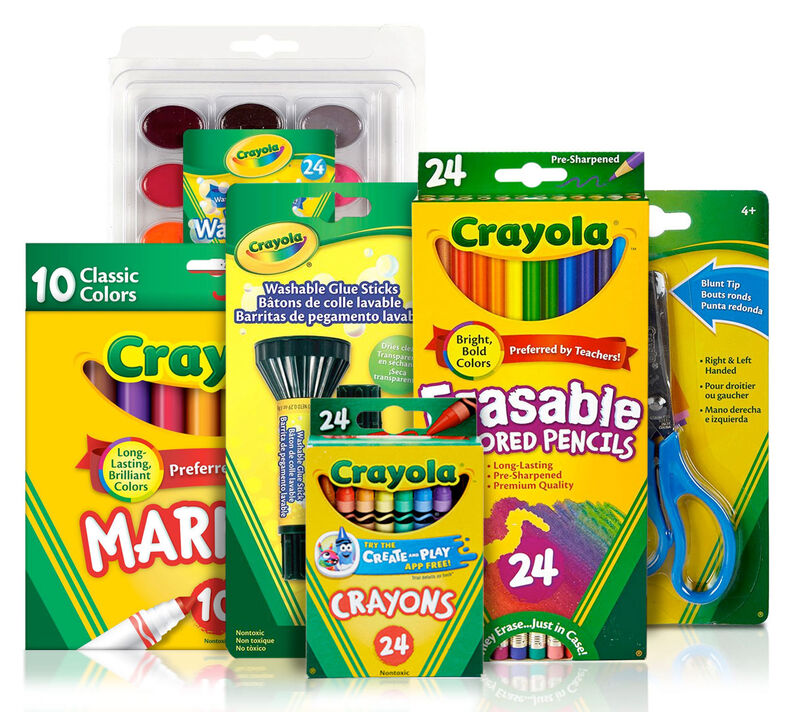 Back to School Supplies Kit (Grades 4-6)
